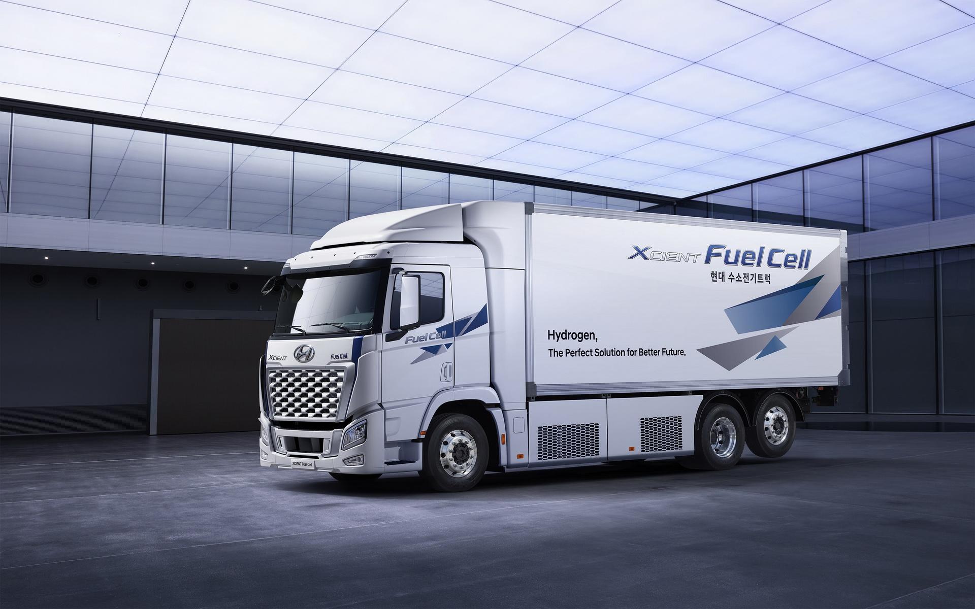 Hyundai Motor представила обновленный грузовик XCIENT Fuel Cell