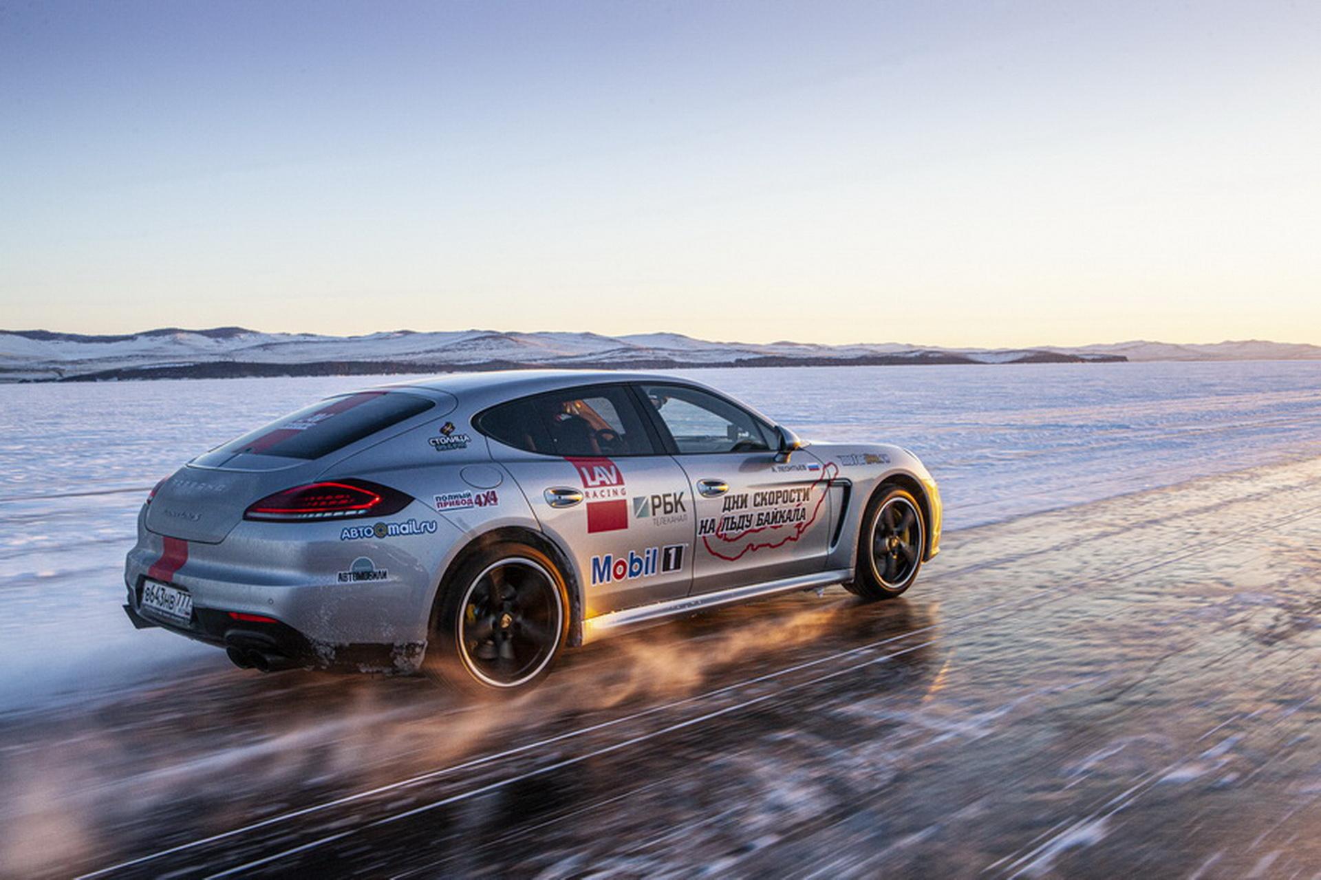Концерн Continental поддерживает фото-выставку_Дни скорости на льду Байкала