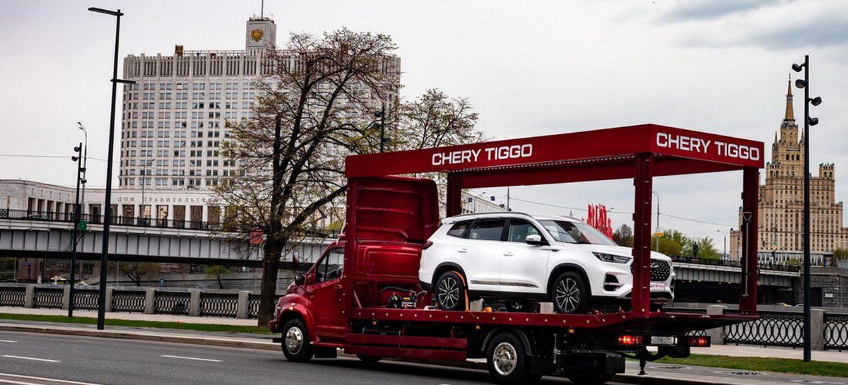 Купил в онлайн-магазине Tiggo 8 PRO — Chery доставит персонально