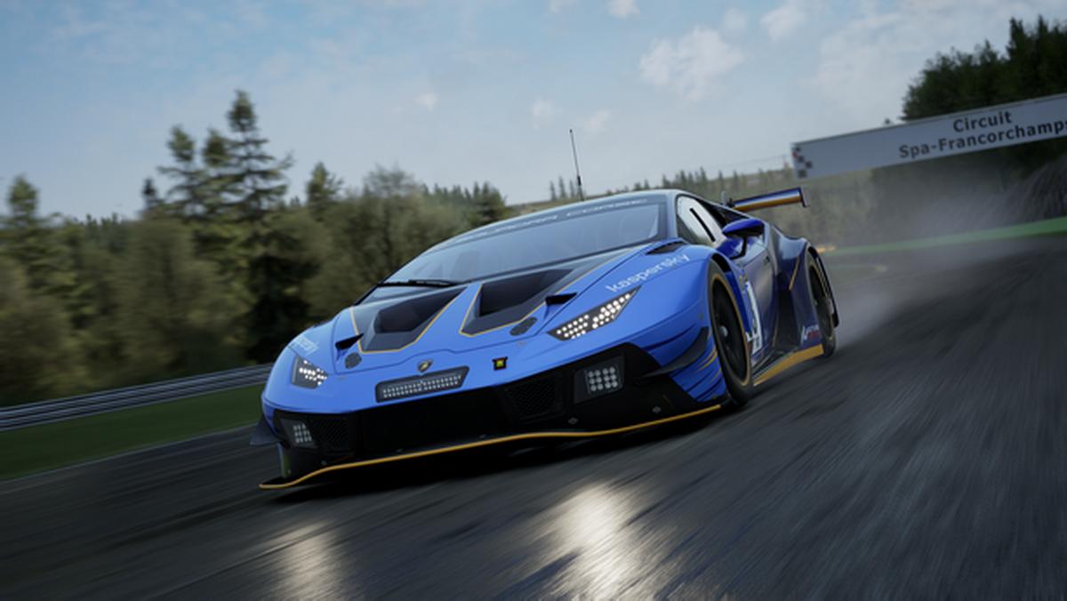 The Real Race от Lamborghini Esport