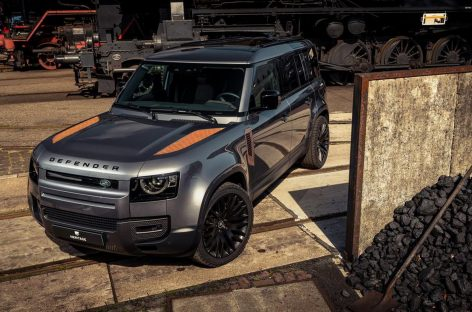 Внедорожник Land Rover Defender и его «ржавый» тюнинг
