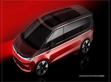 Volkswagen Коммерческие автомобили показала эскизы нового Multivan
