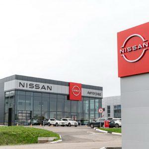 Новая визуальная концепция в дилерском центре Nissan Next