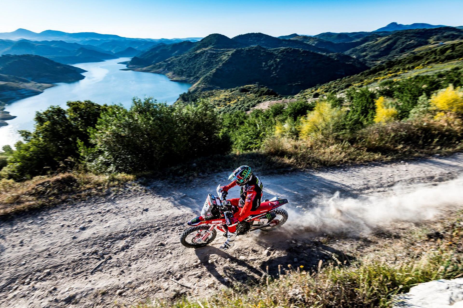 Победители ралли «Дакар» в Андалусии в классе мотоциклов
