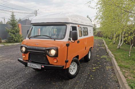 Поклонникам караванинга — Кемпер УАЗ «Байкал»