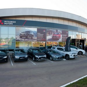 В Ижевске открылся дилерский центр Mitsubishi Motors