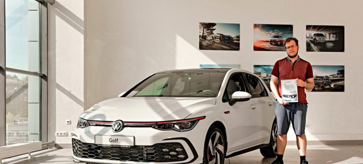 Новый Volkswagen Golf нашел своего российского хозяина