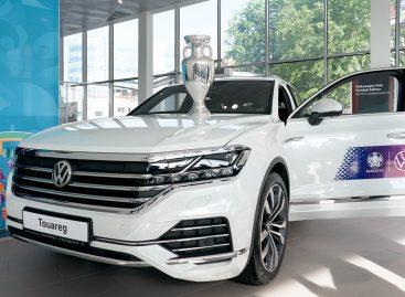 Volkswagen сопровождает Трофи-тур EURO 2020 в Санкт-Петербурге