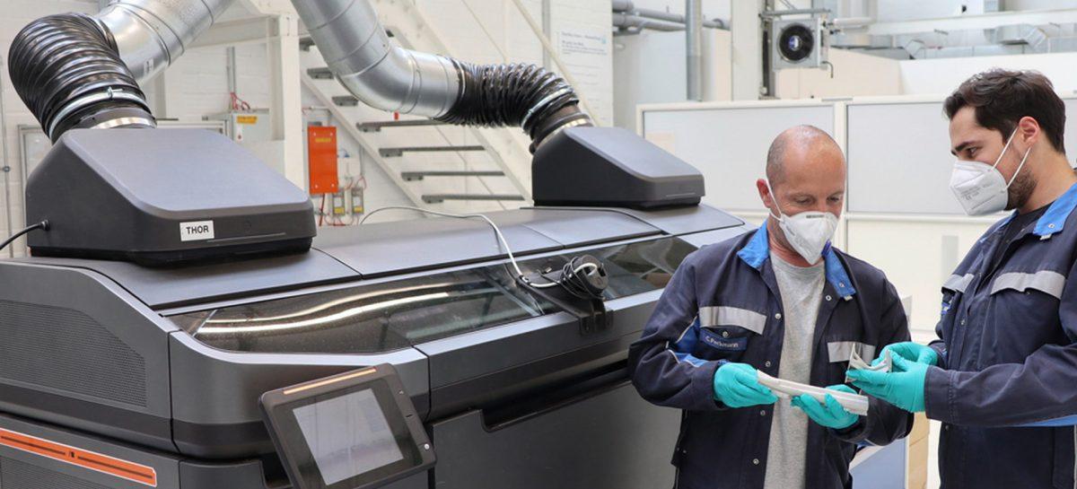 3D-печать при производстве автомобилей от Volkswagen