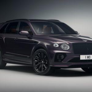 Лимитированная серия Bentley Bentayga Speed — ультрароскошных внедорожников