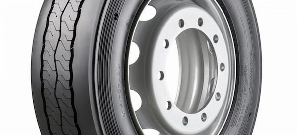 Шина для автобусов от Bridgestone, которая сокращает расход топлива