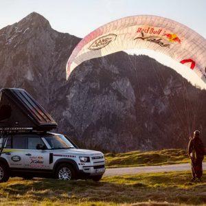 Испытания на стойкость Land Rover Defender на экстремальной гонке Red Bull X