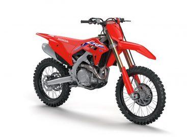 Honda представила новый мотоцикл — CRF450R