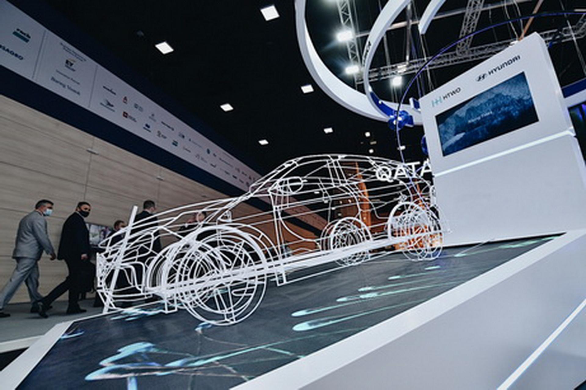 Hyundai представила в России бренд систем топливных элементов HTWO