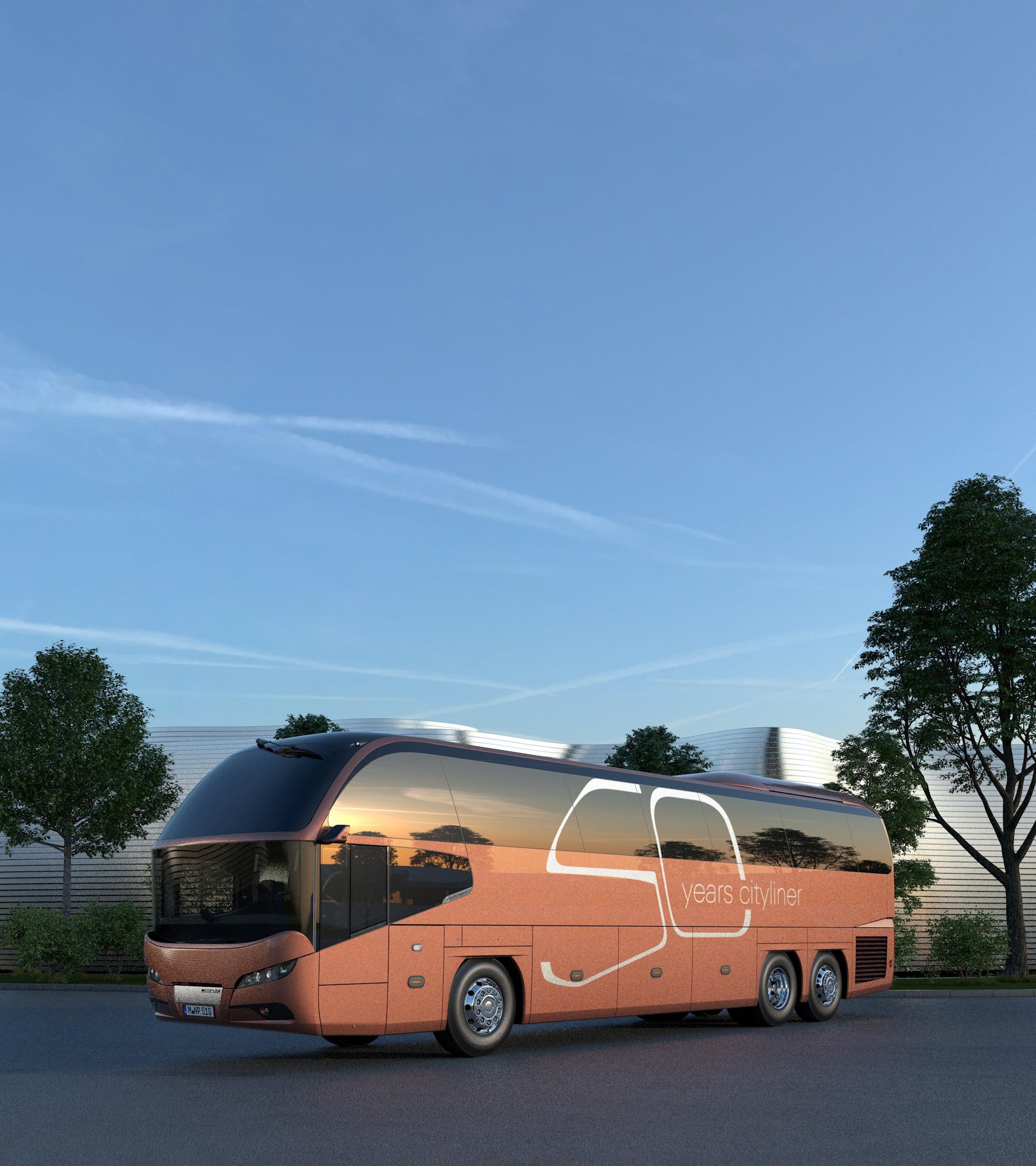 Исполняется 50 лет автобусу NEOPLAN Cityliner