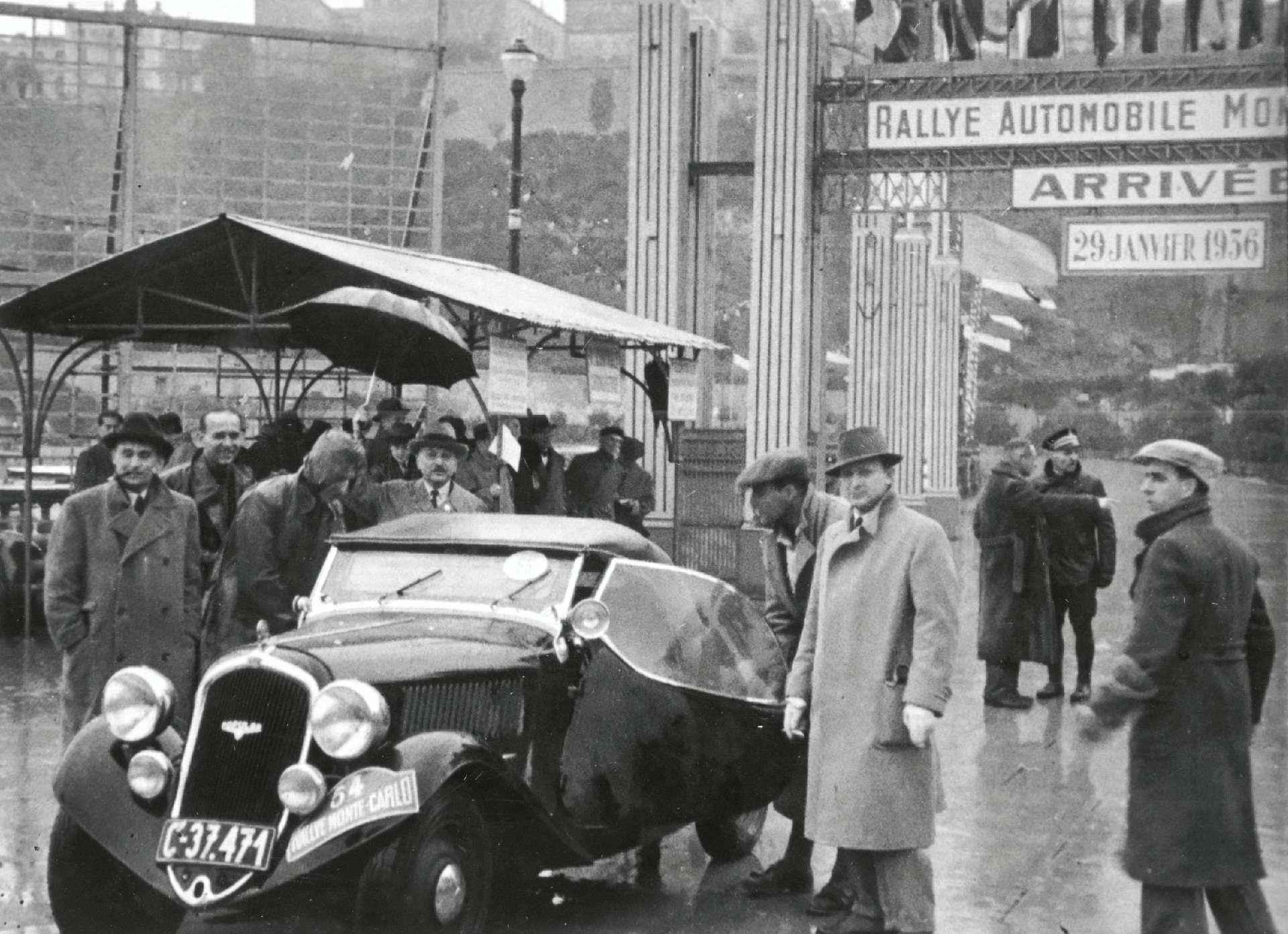 Историческая победа ŠKODA POPULAR SPORT (1936) 85 лет назад