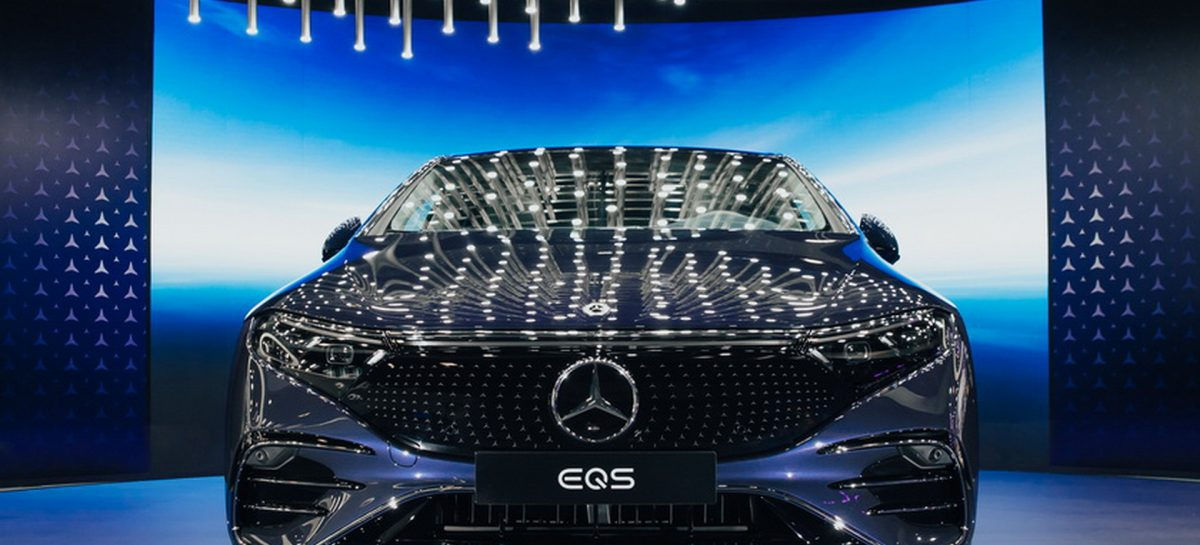 Mercedes-Maybach S-Класса был представлен на экономическом форуме
