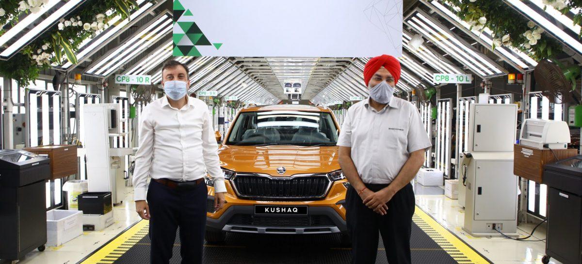 Новая модель Škoda Kushaq запущена в серию в Индии