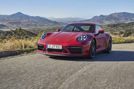 Новое поколение Porsche 911 GTS