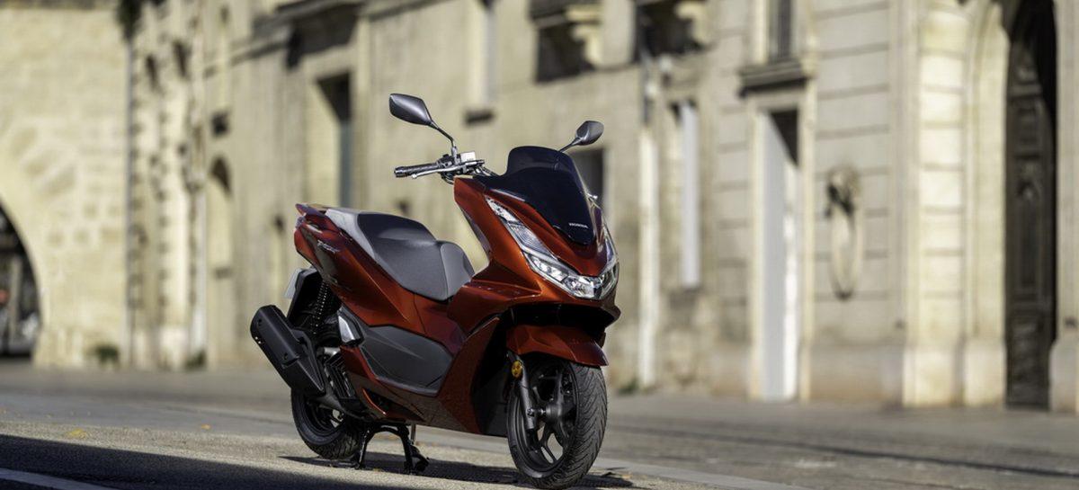 Новый скутер PCX125 от Honda Motor уже в продаже
