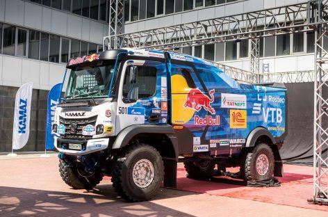 Новый спортивный грузовик «КАМАЗ» нового семейства К5 представлен в Набережных Челнах