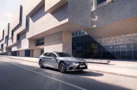 Обновленный седан Lexus LS уже в продаже