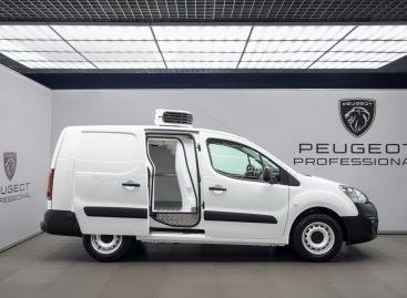 Peugeot представляет новый фургон Partner