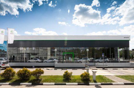 Skoda Auto Россия открыла крупнейший дилерский центр в стране