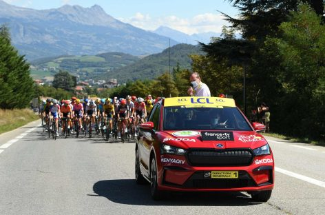 ŠKODA AUTO станет официальным партнером велогонки Тур де Франс в 18-й раз