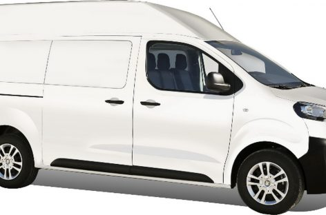 У  Peugeot — переоборудованный фургон Expert с высокой крышей