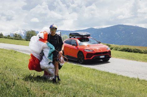 Аарон Дурогати и Lamborghini Urus объединились для необычного испытания