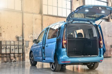 В новом Caddy больше пространства для багажа и гибкая система сидений