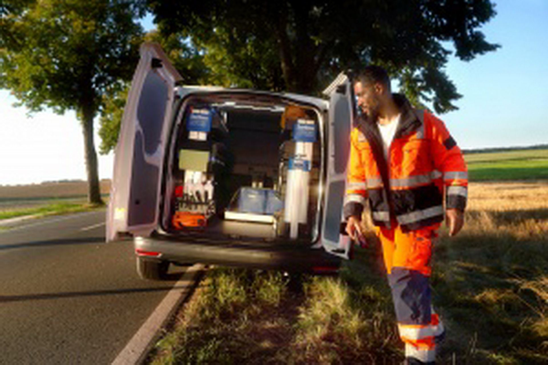 Volkswagen Caddy c новой задней осью