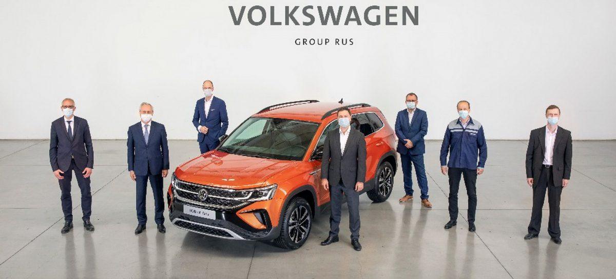 Старт производства Volkswagen Taos в Нижнем Новгороде