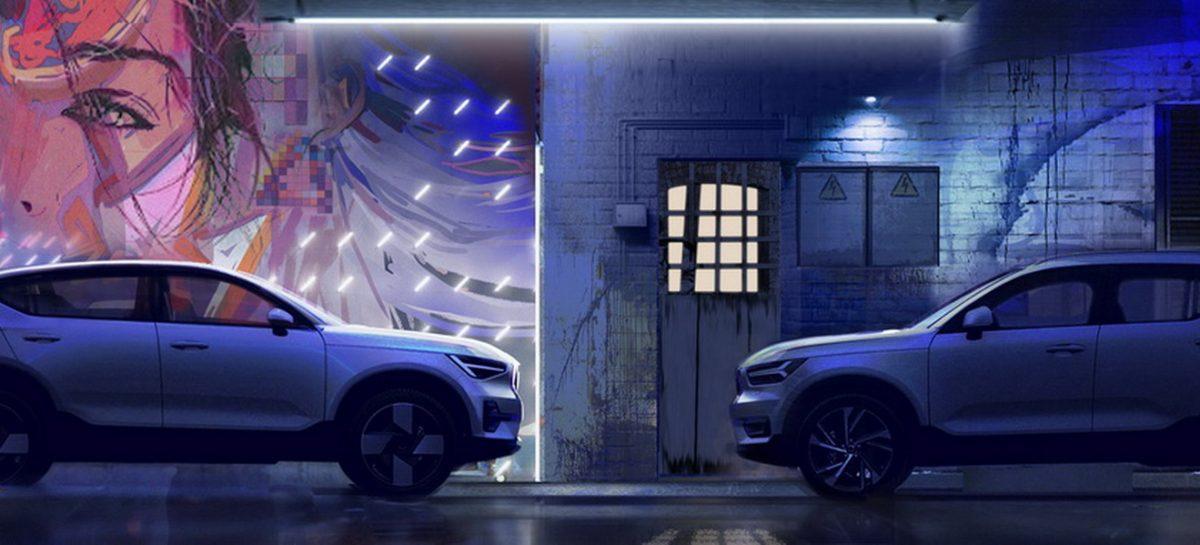Volvo C40 Recharge во многом олицетворяет будущее Volvo Cars