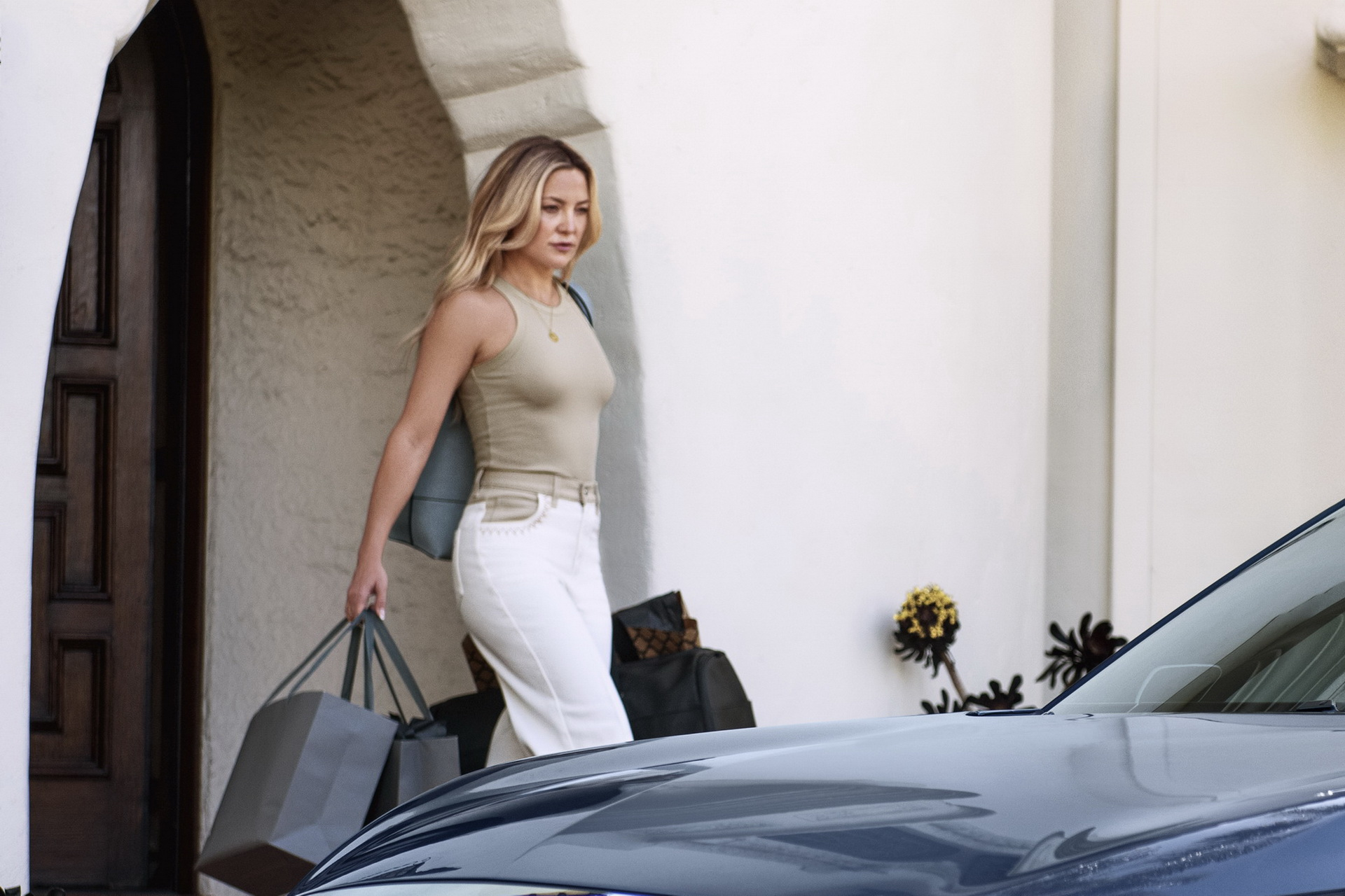 Звезда Голливуда Кейт Хадсон снялась в ролике для INFINITI QX60