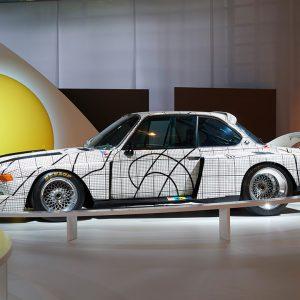 Знаменитая коллекция BMW Art Cars представлена в дополненной реальности