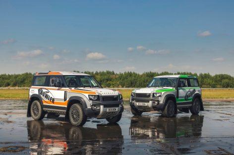 Bowler Motors представила раллийную версию Land Rover Defender