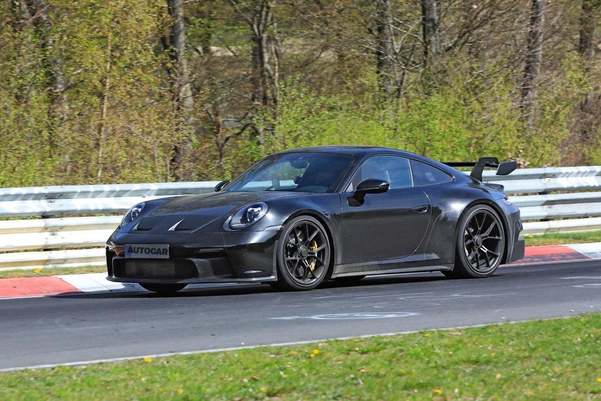 Двухместный Porsche 911
