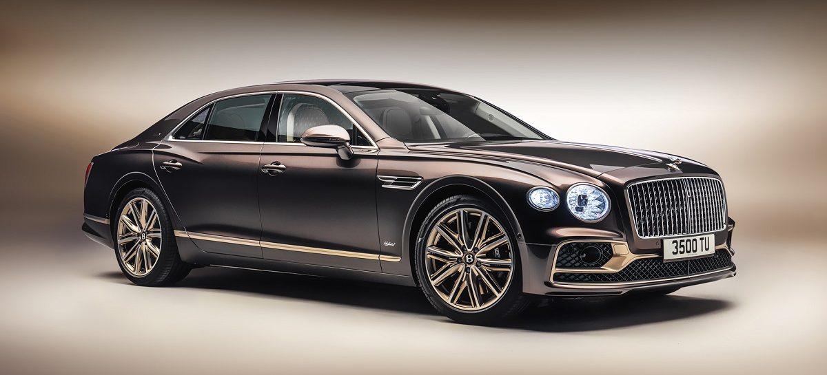 Bentley Motors представляет лимитированную серию, выпущенную в честь выхода на рынок Flying Spur Hybrid