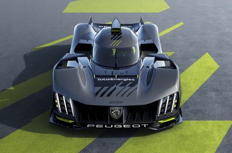 Гиперкар Peugeot 9X8 участвует в Чемпионате мира по гонкам