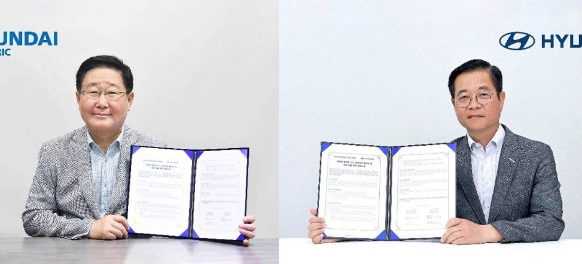Hyundai Motor и Hyundai Electric договорились о разработке водородных топливных элементов для электрогенераторов