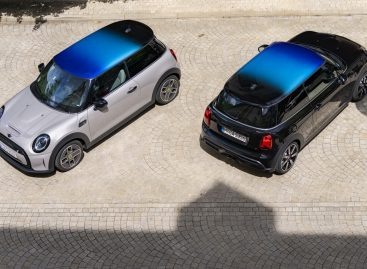 Новый MINI Cooper 3, 5 дверей и Clubman с уникальной многоцветной крышей