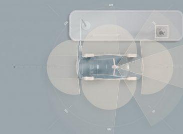 Технология LiDAR в электромобиле Volvo