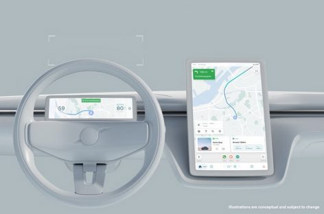 Volvo Cars и Google продолжают разработку безопасного пользовательского интерфейса