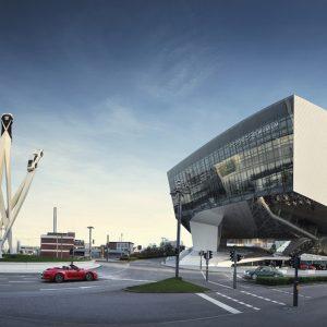 В Штутгарте продлена выставка Porsche с изюминкой — концепт-кар «Boxster»