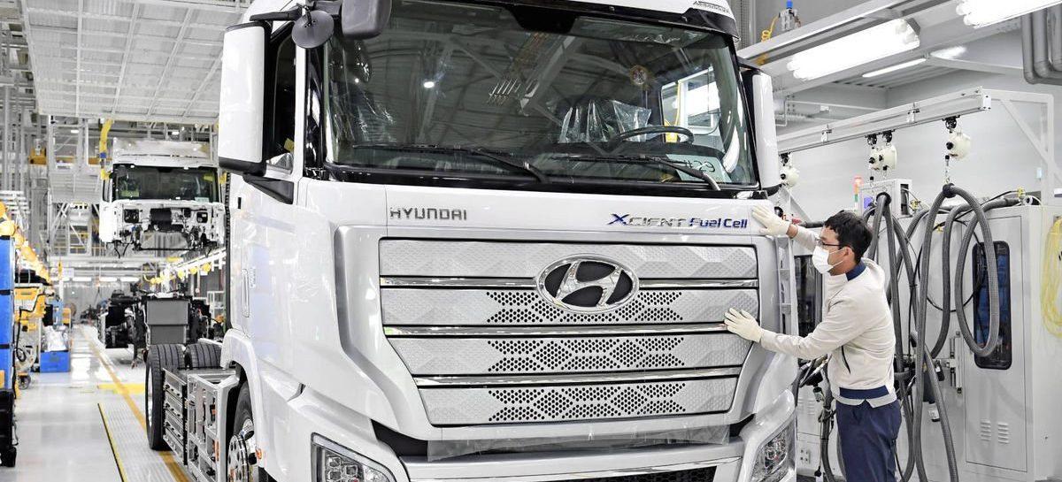 Водородный грузовик Hyundai XCIENT Fuel Cell выходит на дороги Калифорнии