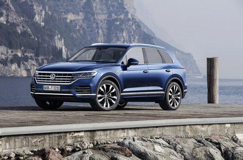 Volkswagen Touareg теперь с пакетом «Парковка плюс»