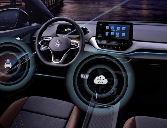 Volkswagen запускает беспроводное обновление программного обеспечения для семейства ID
