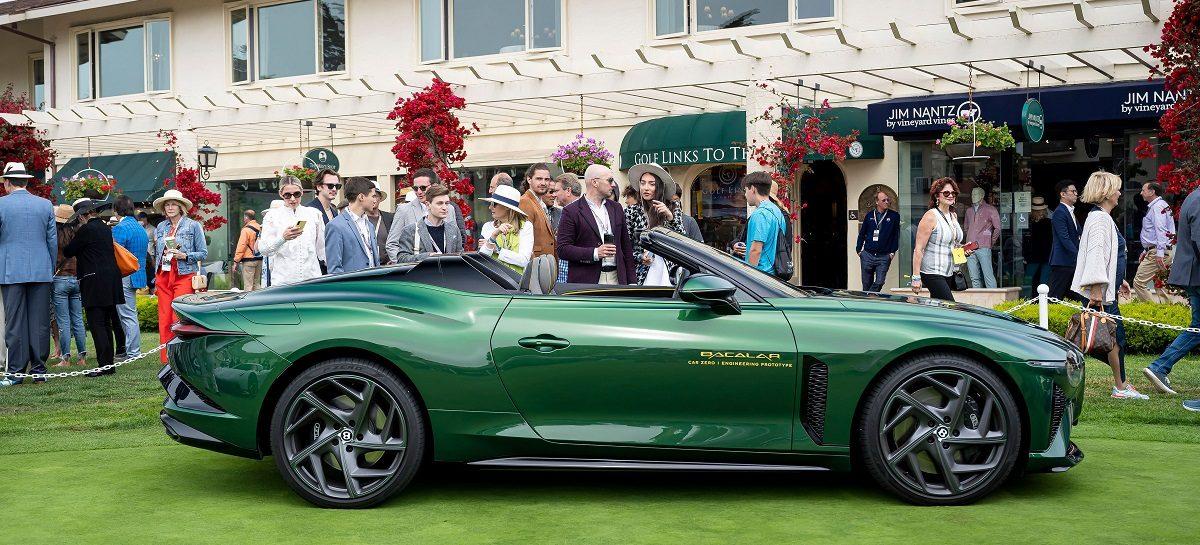 Премьера шести новых моделей Bentley на фестивале Monterey Car Week 2021